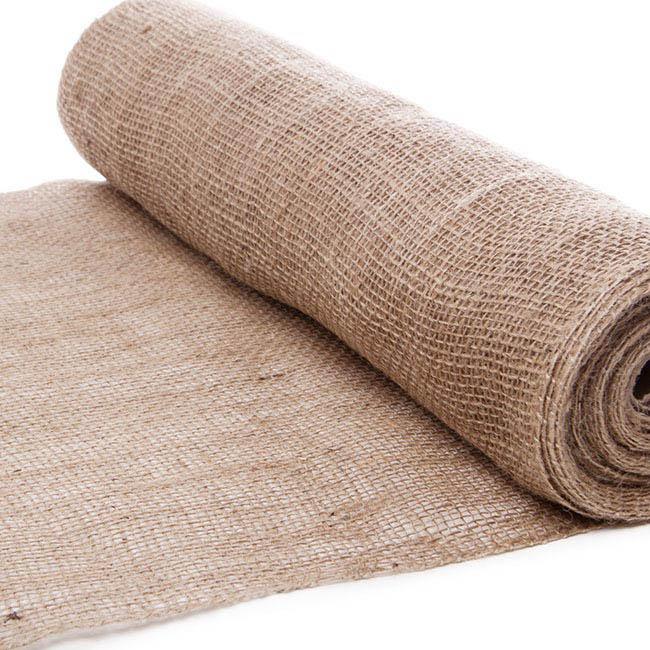Jute Roll Loose Weave Natural 50cmx10m